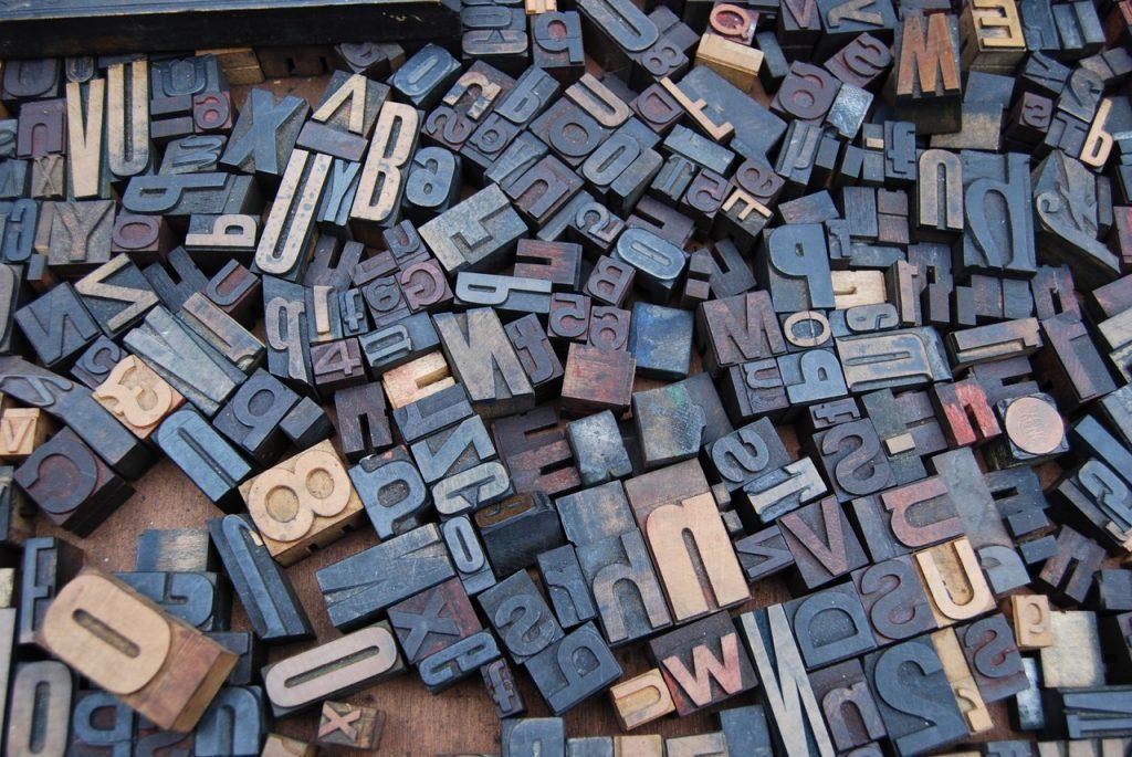 3D slova